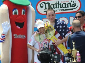 Coney Island Hot Dog Contest